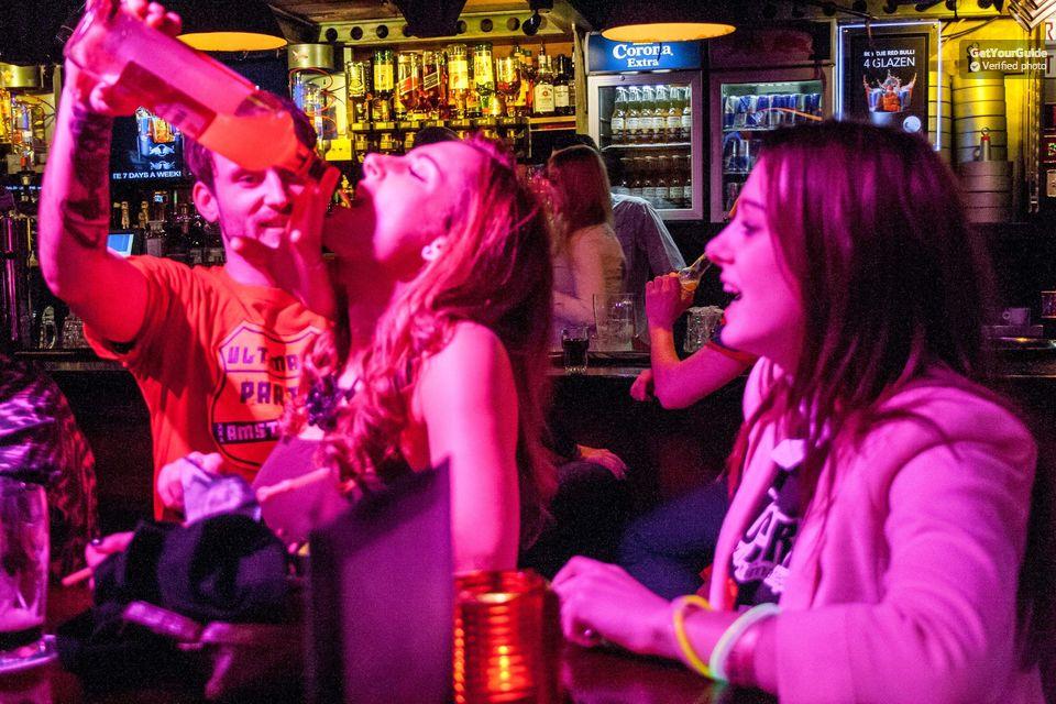 Red light district pub crawl