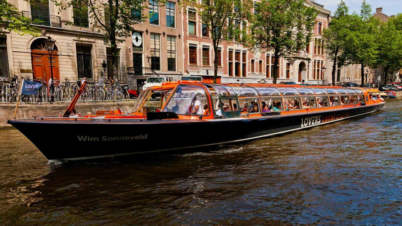 Amsterdam canal cruise