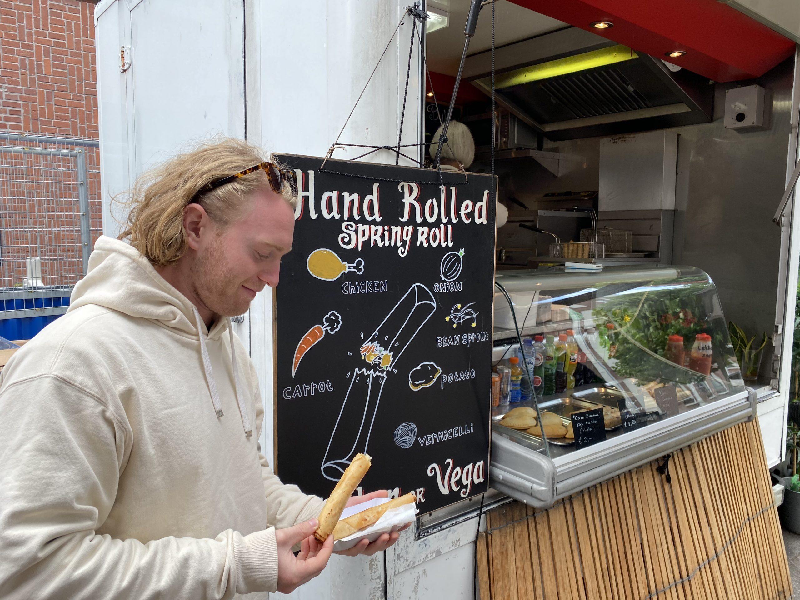Food tour at the Albert Cuyp
