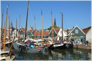 Marken village in The Netherlands