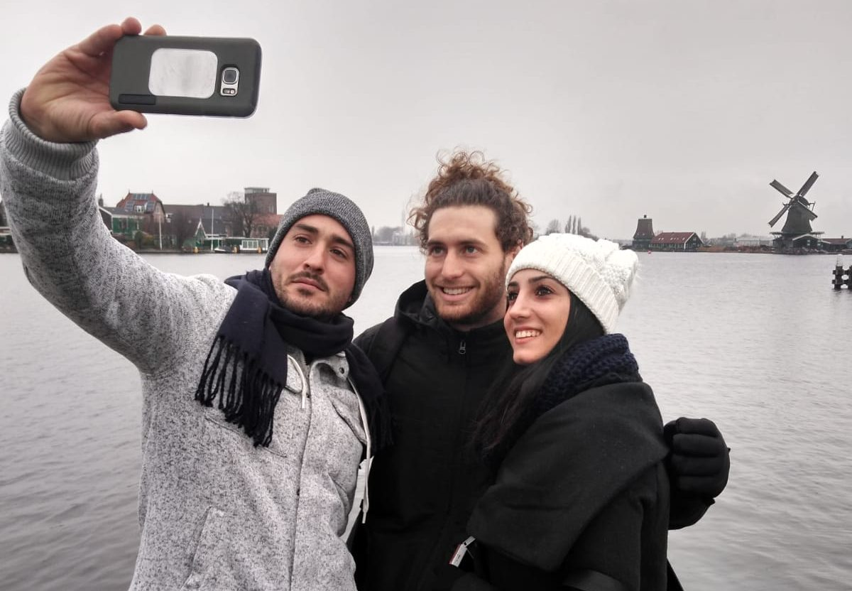Amsterdam windmill tour